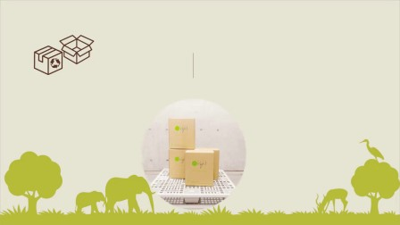 快递纸箱用完就扔,你知道会造成多大的浪费吗?有没有用过这样一款环保的纸箱?