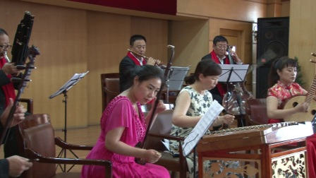 民族器乐小合奏《红梅赞》演出单位人保财险黑龙江省牡丹江市分公司
