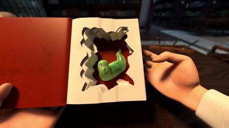 法国搞笑动画短片: 图书馆战争, 书虫VS管理员