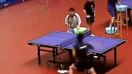 马龙地狱式多球训练, 这就是中国乒乓的实力