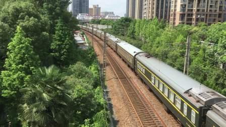 【2017.07.05】K759次 通过沪昆绕行线华景北苑天桥 SS80202