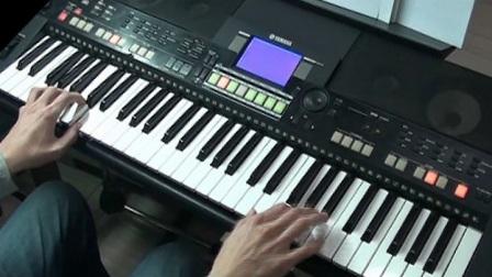 晚秋 阿荣电子琴弹唱教程 伴奏示范 演奏