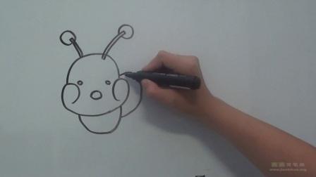 毛毛虫简笔画教程 毛毛虫怎么画视频教程