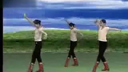 蒙古舞教学 基本动作讲解示范