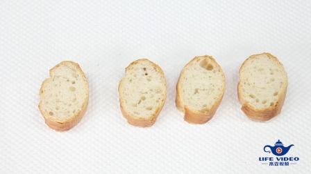 芝士火腿面包搭配酸奶水果冻, 这才是生活