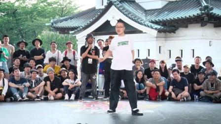 Poppin J(KOR) Judge Move _ SAMURAI WORLD FINAL_ Red Bull BC One Camp Japan
