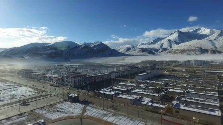 无人机航拍阿里地区日土县雪域神话 天际日土