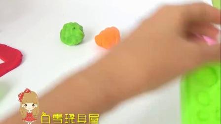 彩色心形巧克力点心蛋糕 熊出没熊大DIY制作