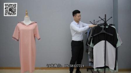 7.7吾尚服饰新款欧货女装秋装30件一份35元一件(杭州女装尾货库存批发)