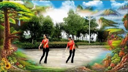 春之韵广场舞《花开繁华》双人版