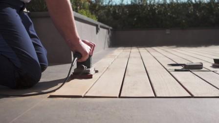意卡涂料【意大利ICAFORYOU】如何翻新 户外地板 - 水性蜡油 ICADECK