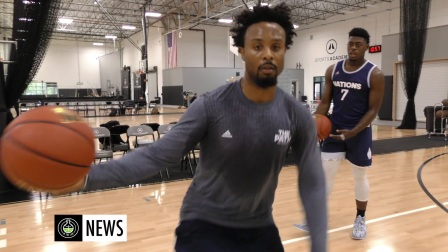 Devin Williams Teach Crossover To Top American Point Guards at adidas camp