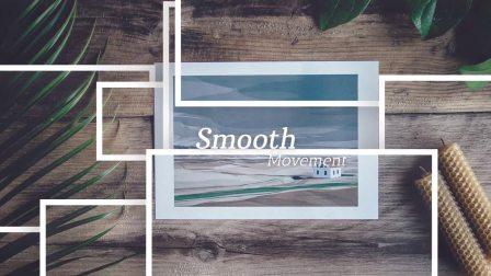 AE模板:企业创意照片分层转场动画拼贴相册视频动画 Inspiring Slideshow