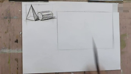 素描零基础 素描静物头像写生静物学习速写绘画高考素描培训高清