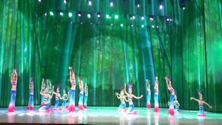 全国少儿艺术交流大赛深圳总决赛作品《傣家姑娘》表演:圆舞少儿舞蹈学校