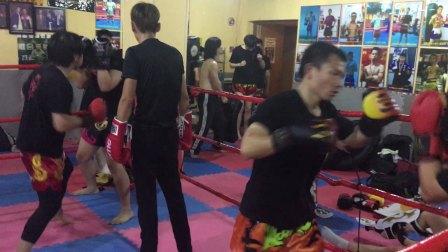 2017暑假上海拳霸泰拳实战训练