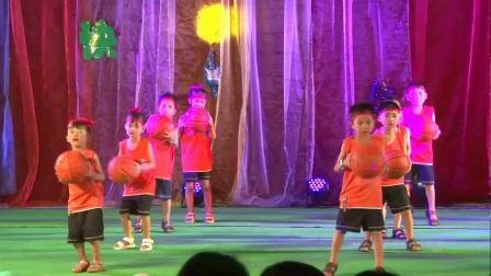 未来星幼儿园节目:动感篮球