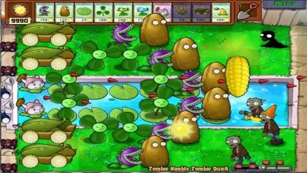 植物大战僵尸 史诗般的攻击100% 巨人 Chomper vs 所有的僵尸