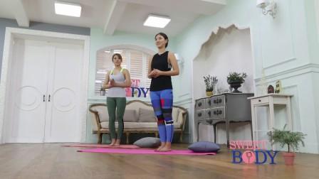 韩国美女瑜伽动作讲解9