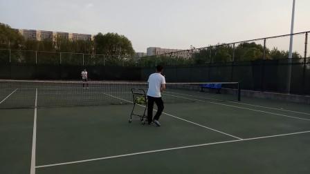 网球喂球训练2