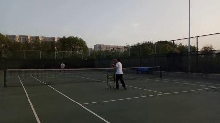 网球喂球训练4
