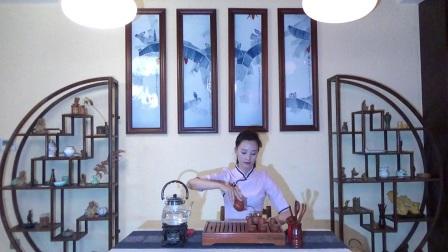天晟茶艺培训学校第132期5号台湾十八道茶艺表演