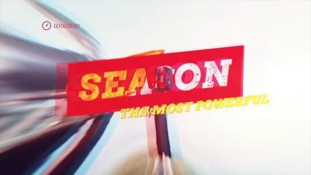 AE模板:体育运动电视节目片头娱乐栏目包装片视频 Fire Up Promo