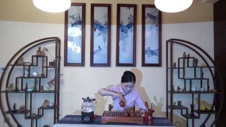 天晟茶艺培训学校第132期6号台湾十八道茶艺表演