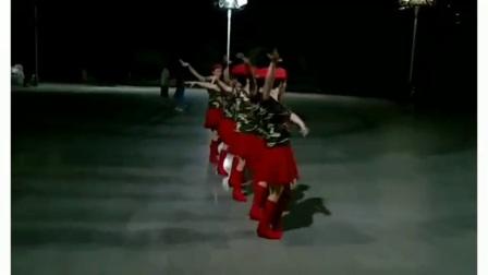 六人变队形水兵舞《尘缘梦》--湖北省老河口市慧美快乐舞步艺术团