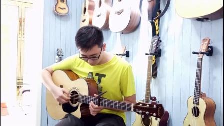 吉他太原 沈健翔 指弹吉他 岸部真明 《流行的云》 山西科艺琴行