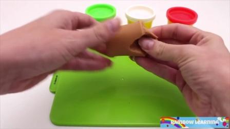 微波炉做出美味的披萨,学习水果和蔬菜的名称。快乐学习计数