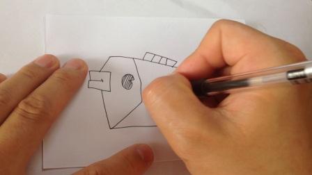 儿童学画简笔画.海底世界各种鱼类2