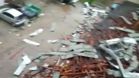 吉林汪清大风大雨4