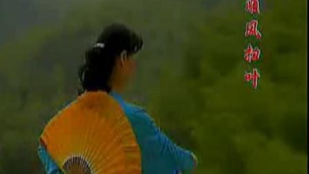 木兰双扇-西湖山水 演练教学应美凤