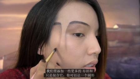 每天一部化妆教学: 三面人化妆大法, 恶搞必会化