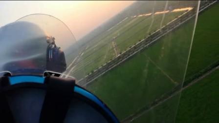 发哥 旋翼机上起飞