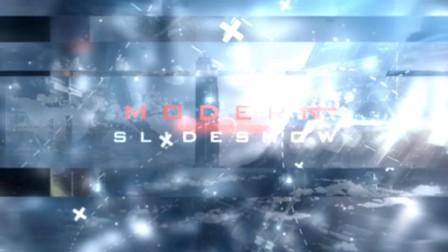 AE模板:现代电力工业公司科技感片头宣传视频 Modern Slideshow