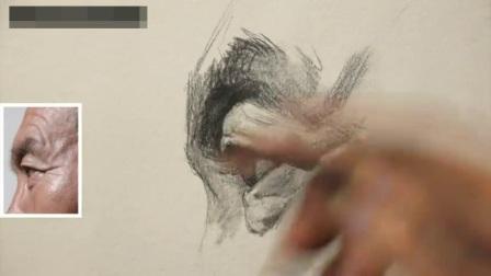 学习素描的步骤素描几何体图片_线描速写人物临摹图_刘晓东素描人物素描入门