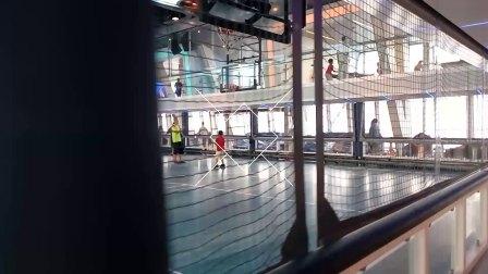 皇家加勒比游轮赞礼号室内活动区