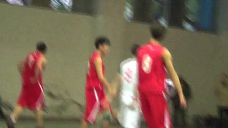 重庆市2013年李宁杯中学生篮球比赛高中男子季军战铜梁中学VS重庆一中第三节