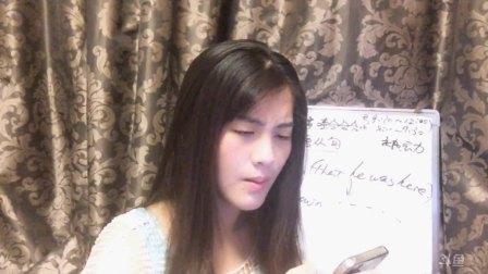娜娜学英语21天20160907被动语态V-ing成分上午