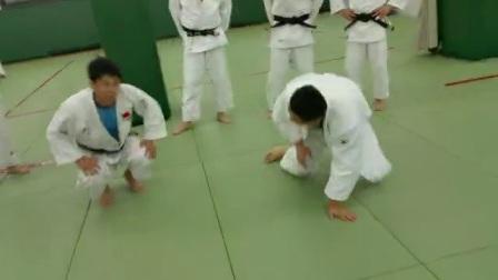 奥东武道柔道曾庆东日本东海大学讲解柔道技术动作