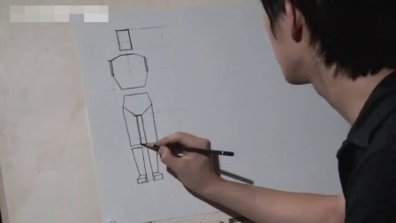 素描基础教程如何学习画画_漫画人物绘画教程_初学素描色彩静物教学视频