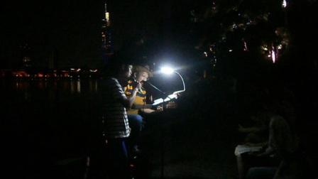 170715SAT 流行歌曲1 马帅哥 琴友 吉他伴奏 TONY大叔 环洲 月季园 湖畔木道 南京