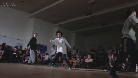 【5BBOY】2v2 Bgirl Top 4  Caerina-Tifffany vs Erie-Yuri ► .stance ◄ SHINE