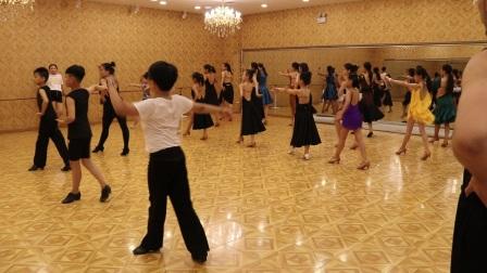 沈阳少儿拉丁舞培训飞舞天达舞蹈学校伦巴