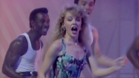 Kylie Minogue - The Locomotion (Live Wogan 1988)