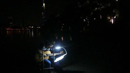 170716SUN 吉他指弹练习 TONY大叔 环洲 月季园 湖畔木道 玄武湖 南京 (5)