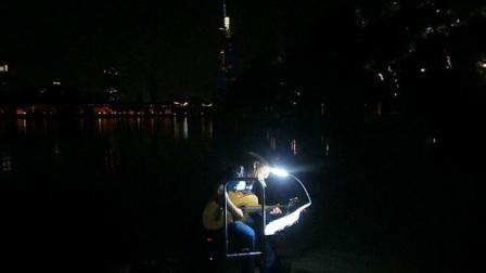 170716SUN 吉他指弹练习 TONY大叔 环洲 月季园 湖畔木道 玄武湖 南京 (9)