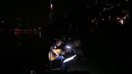170716SUN 吉他指弹练习 TONY大叔 环洲 月季园 湖畔木道 玄武湖 南京 (10)